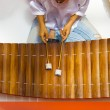 Stock Photo: Traditional Thai Xylophone Instrument Ranat Ek