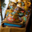 Stock Photo: Thai Wicker AsiConical Hats Floating Market
