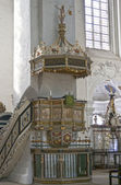 Pulpit in the Cathedral — Stock Photo