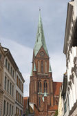 The Cathedral at Schwerin — Stock Photo