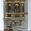 Stock Photo: Pulpit in Small Church
