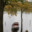Stock Photo: Dinghy in Lake