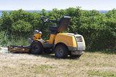Yellow Lawn Mower — Stock Photo
