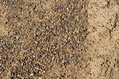 Crush rock and sand texture — Stock Photo