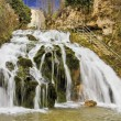 Waterfall in the village of Trillo — Stock Photo