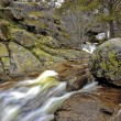 ROCKS IN THE WATERCOURSE — Stock Photo