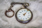 Vintage style pocket watch — Stock Photo