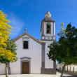 Royalty-Free Stock Photo: Church in small town in south Portugal