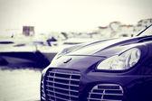 Luksusowy samochód — Zdjęcie stockowe