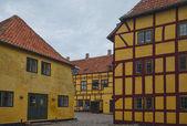 Half-timbered house in Kerteminde — Stock Photo