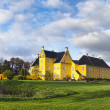 Lykkesholm castle on funen in Denmark - Stock Photo