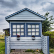 Small cottage near the seaside, Denmark — Stock fotografie