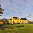 Lykkesholm castle on funen in Denmark — Stock Photo #13907603