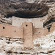 Montezuma castle Pueblo — Stock Photo