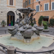Fontana delle Tartarughe in Rome — Stock Photo
