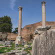 The Forum Romanum in Rome, Italy — Stock Photo