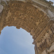 Arch of Titus, Forum Romanum, Rome, Italy — Stock Photo