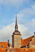 Holckenhavn Castle in Nyborg, Funen, Denmark — Stock Photo