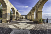 Upper Barrakka Gardens, Malta — Stock Photo