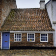 Stock Photo: The smallest house in Ribe, Denmark
