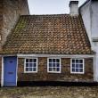 das kleinste Haus in Ribe, Dänemark — Stockfoto