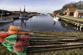 Stauning harbor in the western part of Denmark — Stock Photo