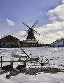 Damgaard windmill near Aabenraa in Denmark — Stock Photo