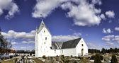 Sankt Clemens church on the island Romo — Stock Photo