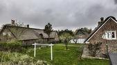 Traditioneel huis in sonderho op het Deense eiland fano — Stockfoto