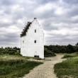 Stock Photo: Sand-Buried Church, Skagen, Jutland, Denmark