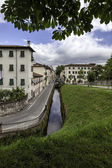 Lucca, Tuscany, Italy. Streets and canals — Stock Photo