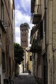 Lucca, Toscane, Italië. straten — Stockfoto