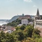 Fisherman's bastion Budapest. — Stock Photo