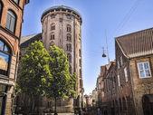 Round Tower located at Copenhagen, Denmark — Stock Photo