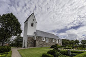 Medieval Stadil Church in Denmark — Stock Photo