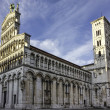 Cathedral of Saint Michele, Lucca, Italy, — Lizenzfreies Foto