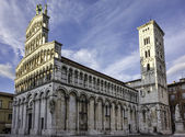 Cathedral of Saint Michele, Lucca, Italy, — Stock Photo