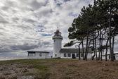 Sletterhage Lighthouse in Denmark — Stock Photo