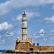 Venetian lighthouse in Chania, Greece — Stock Photo
