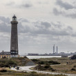 Stock Photo: Grey lighthouse in Skagen