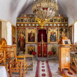 Interior of minimalistic church on Crete in Greece — Stock Photo