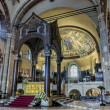 Stock Photo: Altar in Basilicof Sant Ambrogio, Milan, Italy