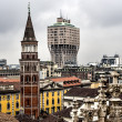 Stock Photo: Torre Velascin Milan, Italy