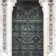 Door detail from the Duomo in Milan, Italy — Stock Photo