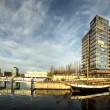 The Ernst Busch platz Kiel harbour, Germany — Stock Photo #36757355
