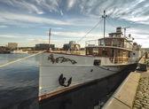 Paddle steamer Freya from Kiel — Stock Photo