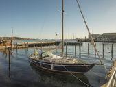 Eckernfoerde in Germany, the old harbor — ストック写真