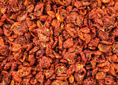 Dried and sliced tomatoes — Stock Photo
