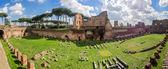 Hippodrome Stadium of Domitian, Palatine Hill Rome — Stock Photo