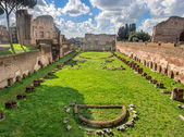 Hippodrome Stadium of Domitian, Palatine Hill Rome — Stock Photo